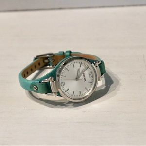 Fossil Women's watch - turquoise